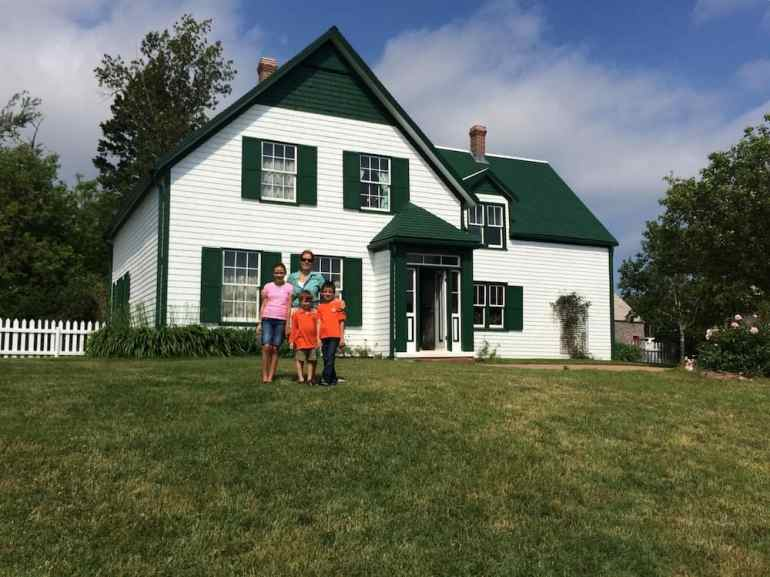 Anne Of Green Gables House With Kids Prince Edward