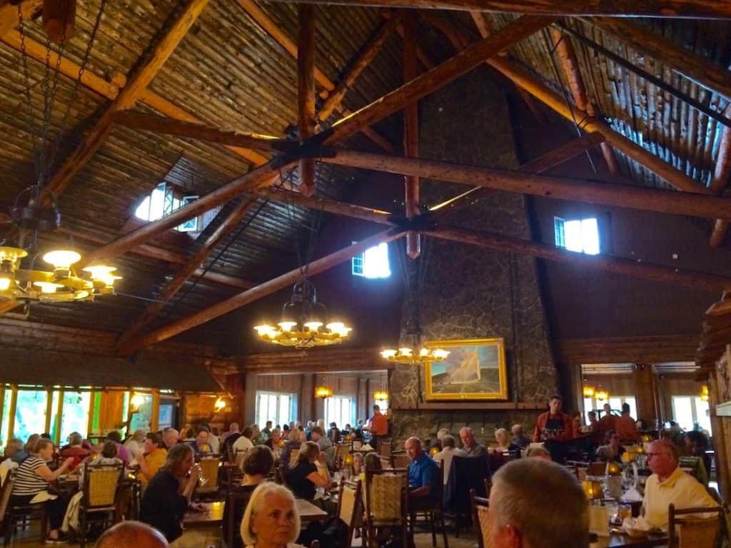 Bon The Old Faithful Dining Room. Old Faithful Inn With Kids.