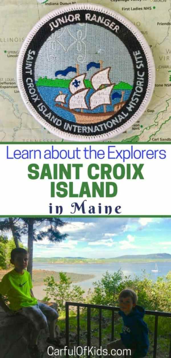 how to get to saint croix island maine