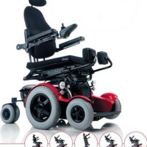 Silla de ruedas eléctrica bipedestadora modelo C3