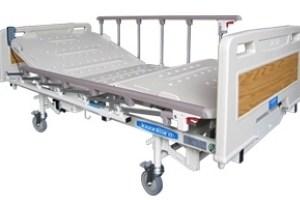 Cama tipo hospital eléctrica de 3 posiciones