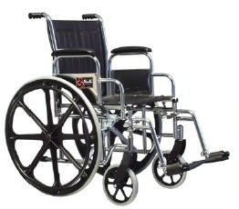 Silla de ruedas universal desmontable tipo 1, marca Everest & Jennings