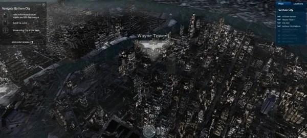 Gotham City Map fe Nokia