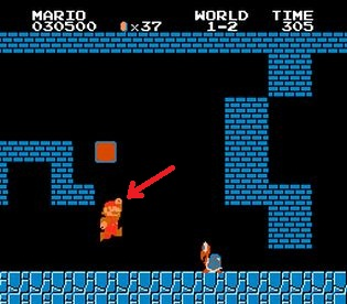 Mario-rompiendo-ladrillo