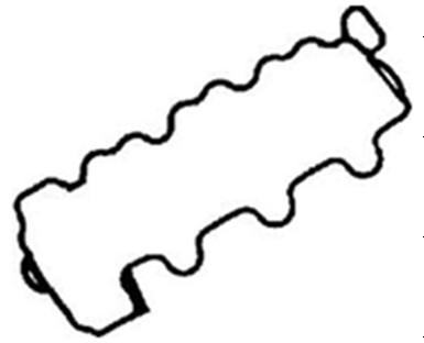 Mercedes Benz Rocker cover Gasket 112 016 03 21, 70-34108