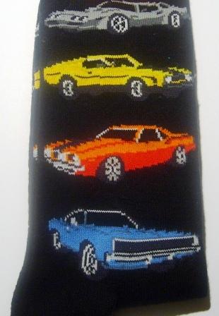 Muscle Car Socks Car Gift Such As Chevrolet Camaro Mach 1