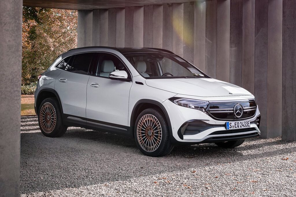 Mercedes-Benz EQA 250 Unveiled: Electromobility on Board