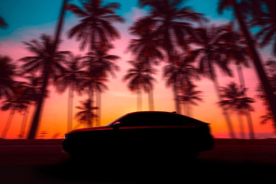 2022 Honda Civic Hatchback Teased Ahead of Global Premiere on June 23