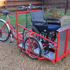 The Bike Chair On Dance Wheelchair Transporter Trike Carry A Disabled