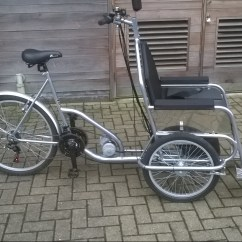 The Bike Chair Kenny Chesney Blue Bay Song Wheelchair Helping Disabled To Enjoy Cycling