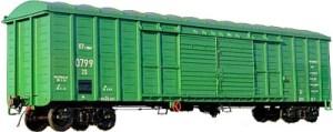 Типы и размеры жд вагонов