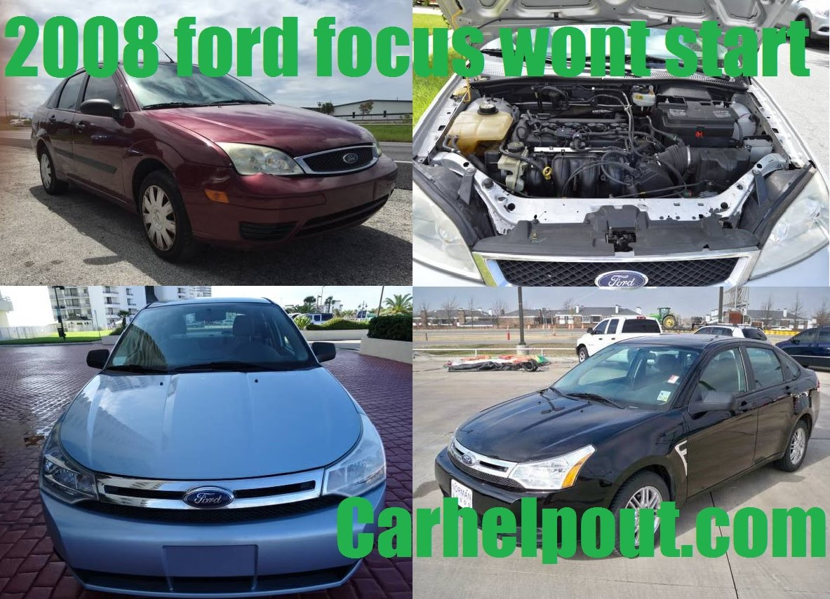 2008 Ford Focus Starter Relay Location
