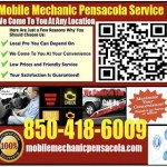 Mobile Mechanic Pensacola FL