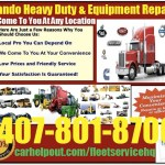 Orlando heavy duty semi truck and equipment repair service