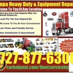 Tampa heavy duty semi truck and equipment repair service