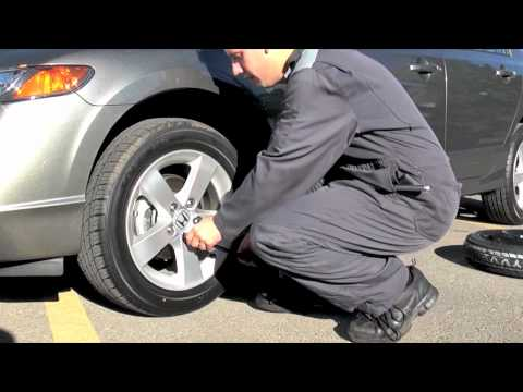 How To Change Flat Car Tire Step By Step Video Instruction