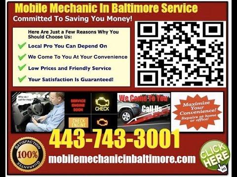 Mobile Mechanic In Baltimore Auto Car Repair Service