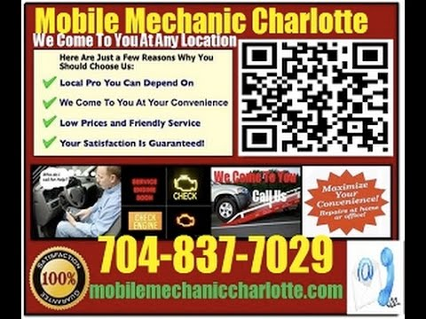 Mobile Mechanic In Charlotte NC Auto Car Repair Service