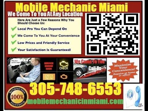Mobile Mechanic In Fort Lauderdale Florida Auto Car Repair Service
