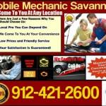 mobile mechanic savannah, Georgia