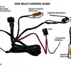 H7 Bulb Wiring Diagram 1999 Acura Integra Radio Hid Kit Installation Guide