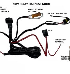 hid kit installation guide 9007 bulb wiring diagram sealed beam headlight wiring diagram [ 1300 x 774 Pixel ]