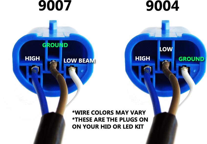 9004 bulb wiring plug wiring diagram schematics