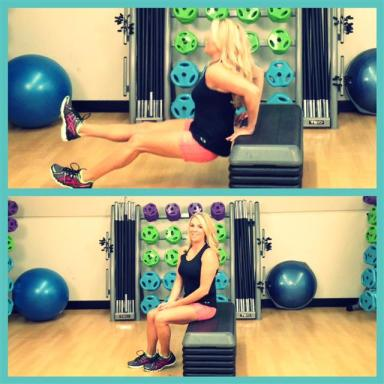 seated triceps