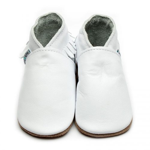 Moccasin-white-inch-blue