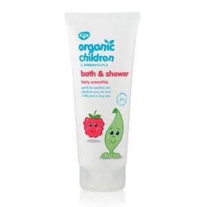 organic children bath and shower