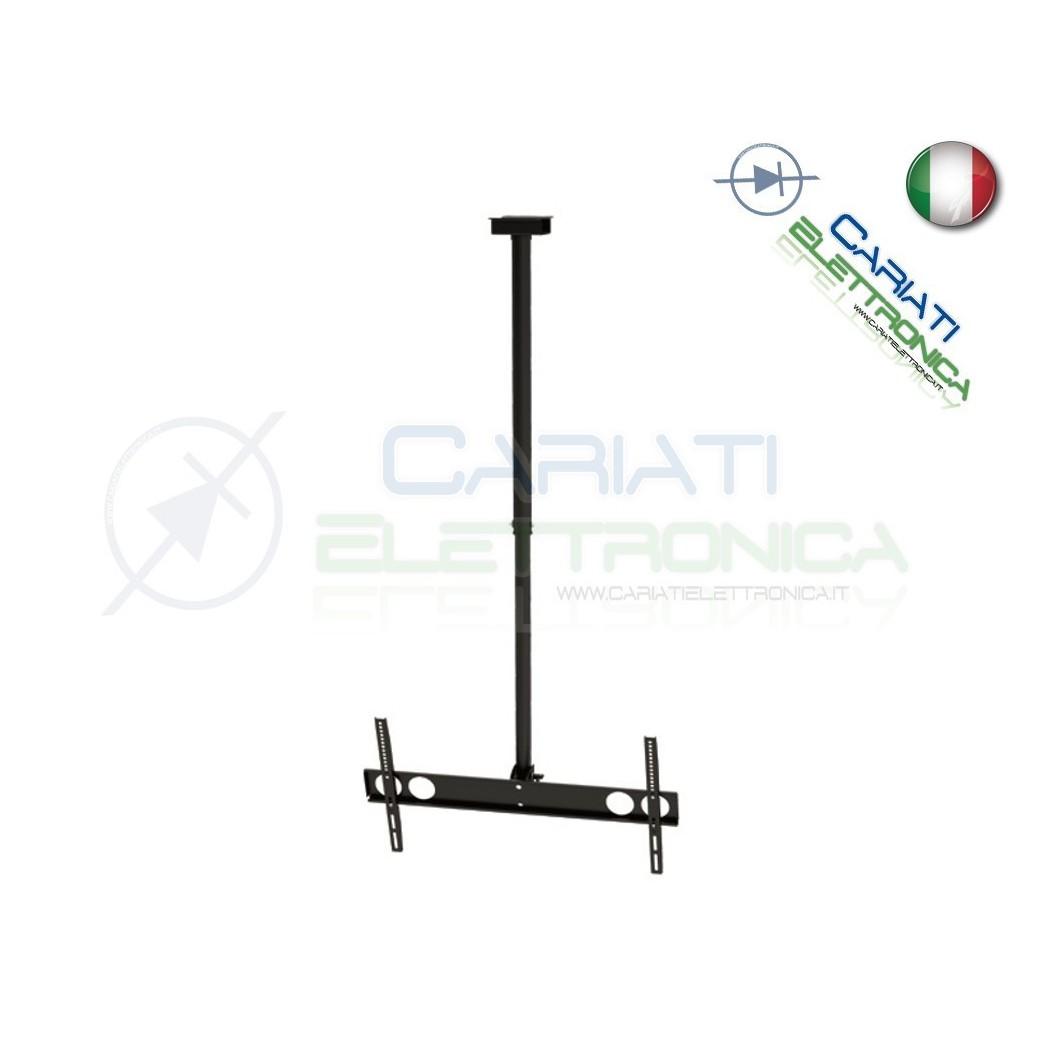 SUPPORTO STAFFA PARETE TV LCD TFT LED SOFFITTO DA 37 A 70
