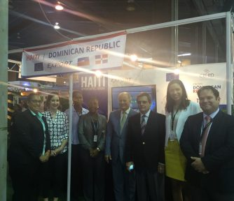 HT-DR Delegation with Ambassador of DR in Trinidad