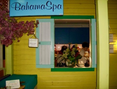 The bahamaSpa™ retail location.