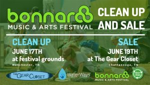Bonnaroo 2019 clean-up and sale