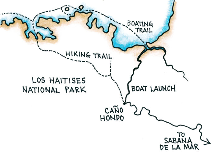 Cano Hondo (Map by Dana Gardner)