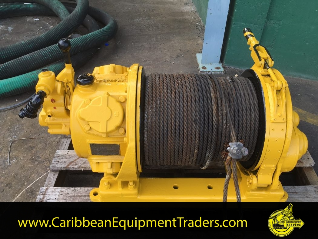 hight resolution of 4 000lbs capacity air winch mid drum hul40