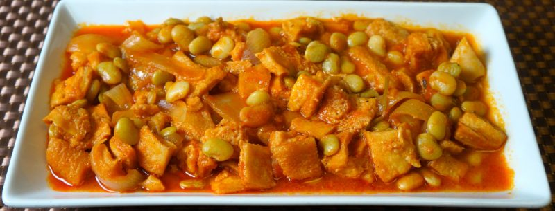 Beef Tripe With Lima Beans Stew Caribbean Green Living