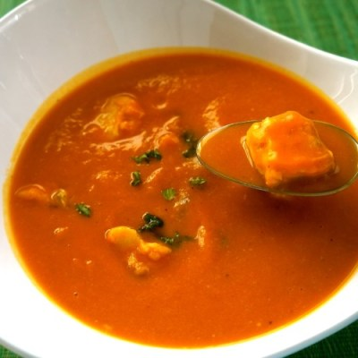Fish and Sweet Potatoes Soup
