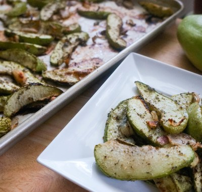 Roasted Chayote or Roasted Mirliton
