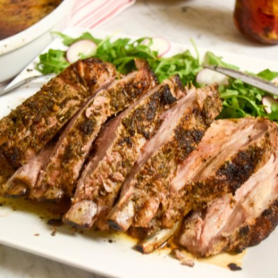 The Perfect Herbed Pork Rib Roast