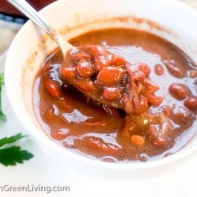 Easy Red Kidney Bean Consommé Recipe