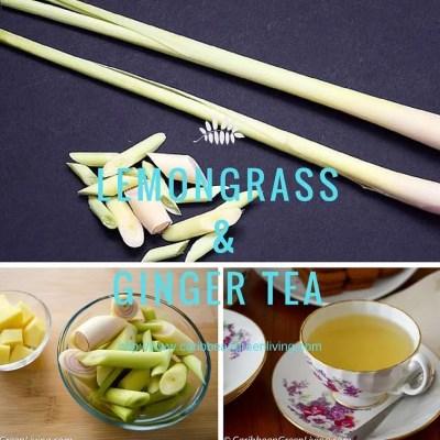 Aromatic Lemongrass and Ginger Tea