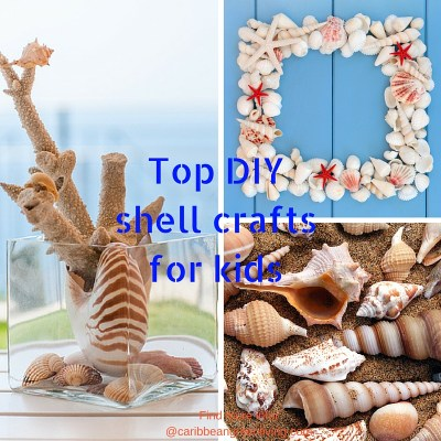 Top DIY shell crafts for kids