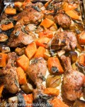Sage Chicken with Roasted Butternut Squash