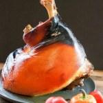 Roasted Fresh Bone-In Ham