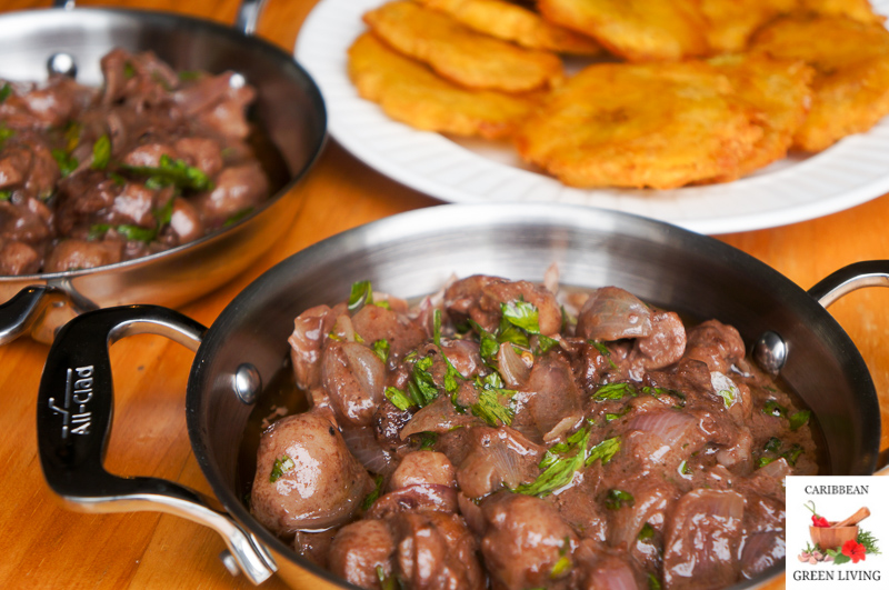 Veal kidneys in a Tamarind and Red Wine sauce