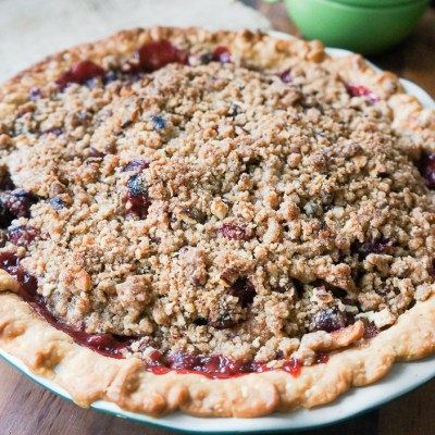 A spin on French Cranberry-Apple Pie