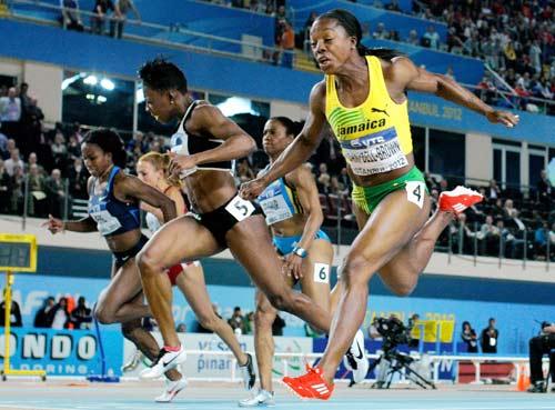 kingston jamaica ap decorated jamaican sprinter veronica
