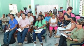 Santa Rosa land issues consultations commence
