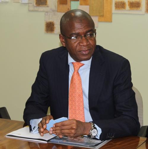 Courteville Group Managing Director, Bola Akindele